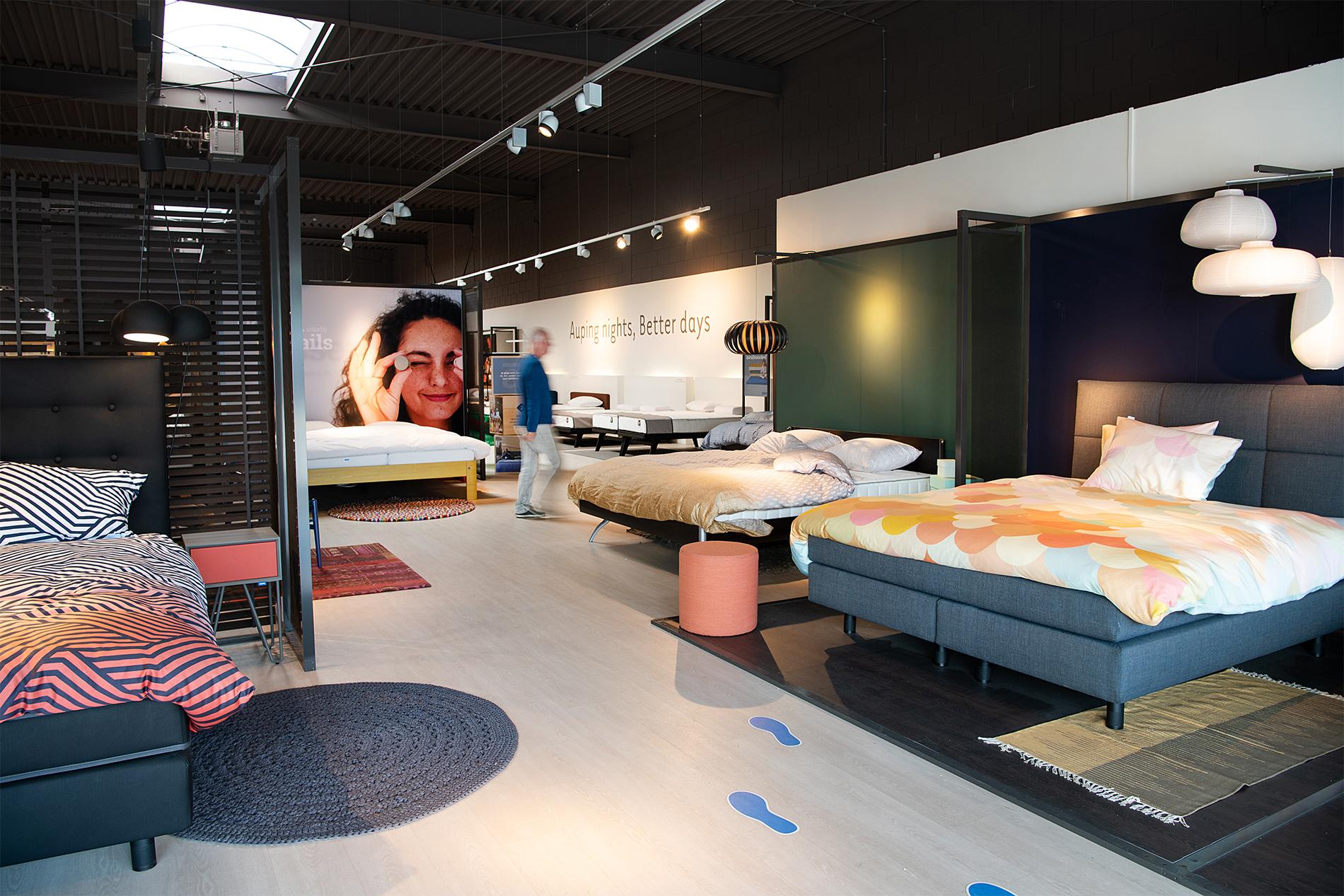 Auping Plaza Almere – Vita Talalay natuurlatex matrassentopperwinkel in Almere Flevoland