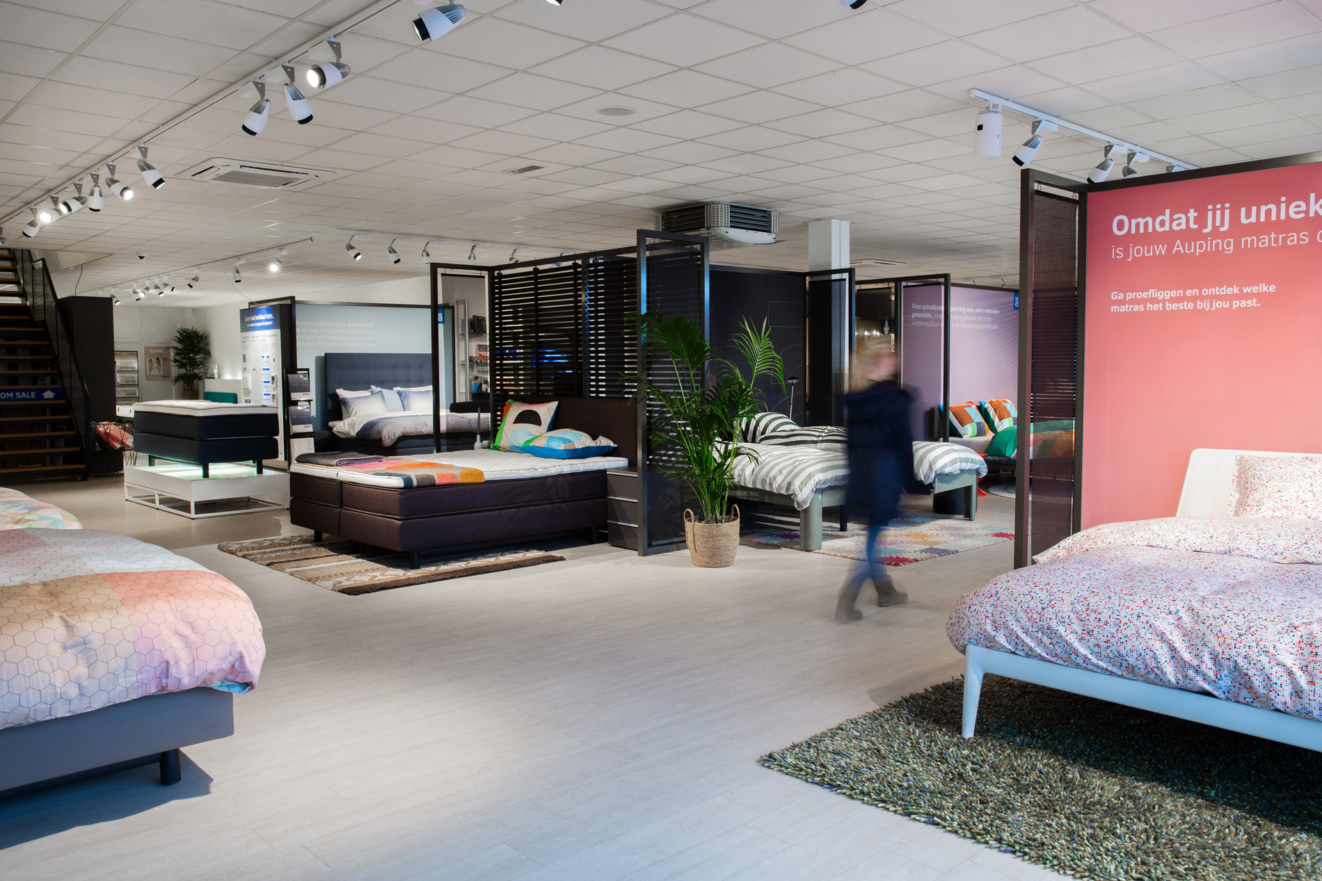 Auping Plaza Amersfoort – Natural Vita Talalay Latex Mattress Store in Amersfoort UT