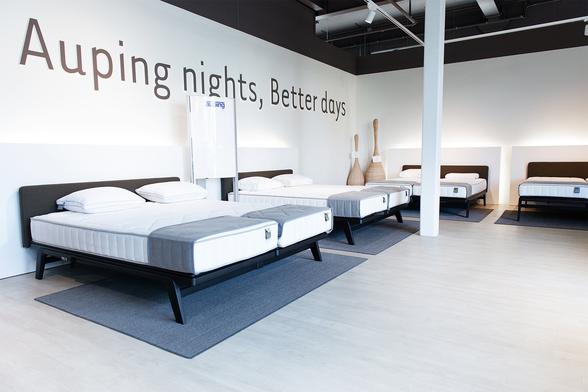 Auping Plaza Baarn – Natural Talalay Latex Mattress Store in Baarn UT