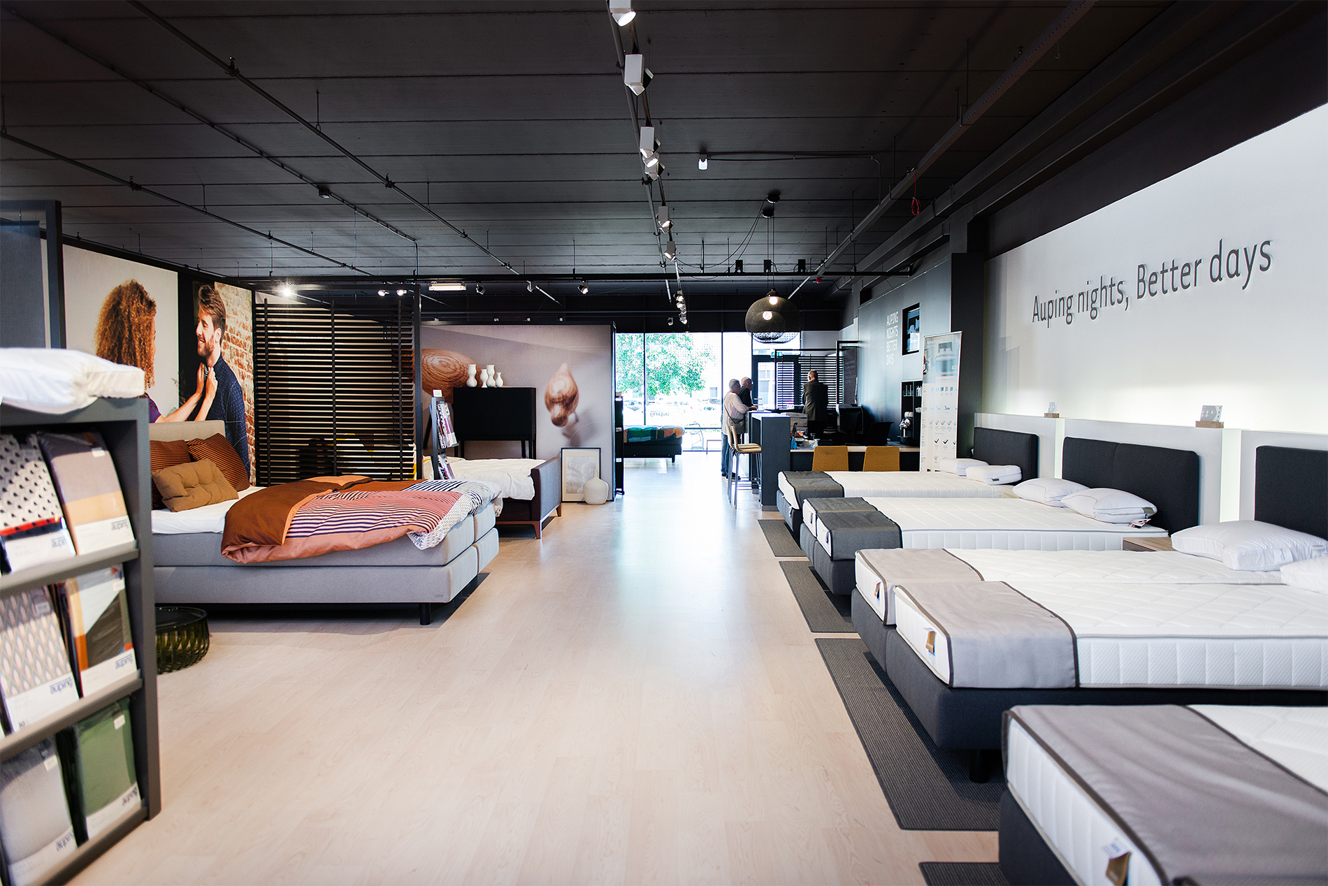 Auping Plaza Barendrecht – Natural Vita Talalay Latex Mattress Store in Barendrecht South Holland