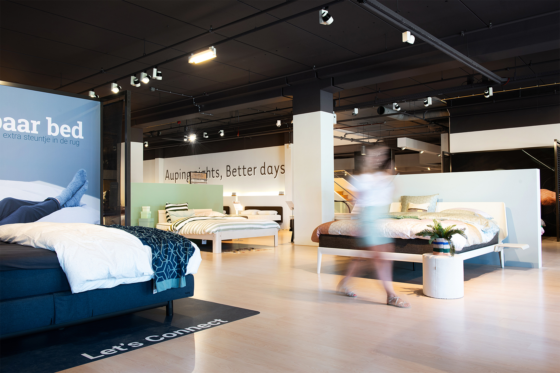 Auping Plaza Barendrecht – Natural Vita Talalay Latex Mattress Store in Barendrecht ZH