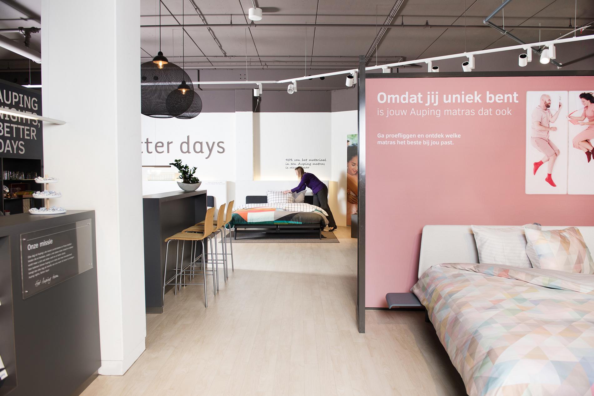 Auping Plaza Den Haag Megastores – Natural Vita Talalay Latex Mattress Store in Den Haag Megastores South Holland
