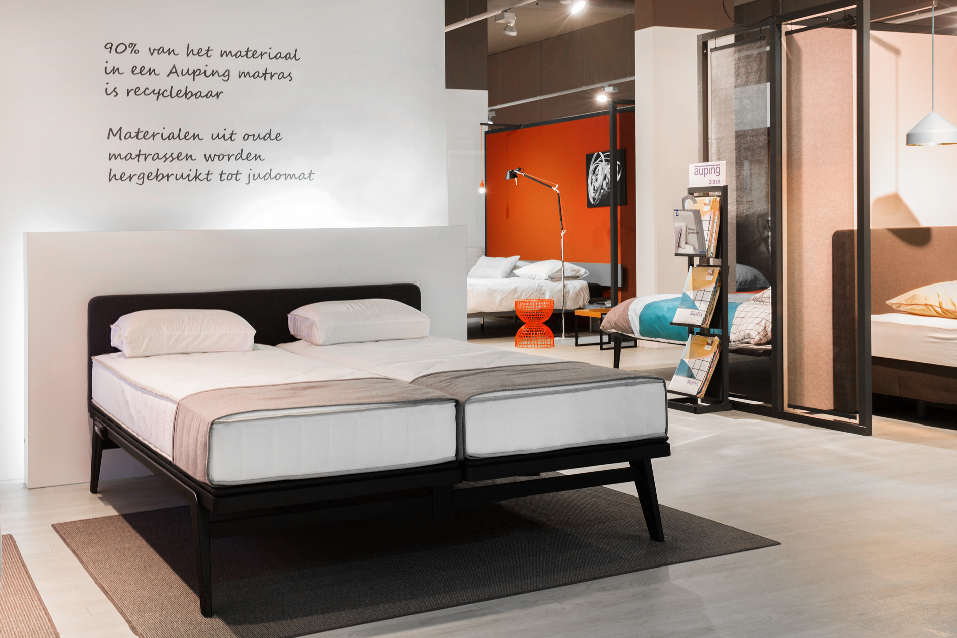 Auping Plaza Ede – Natural Vita Talalay Latex Mattress Store in Ede Gelderland