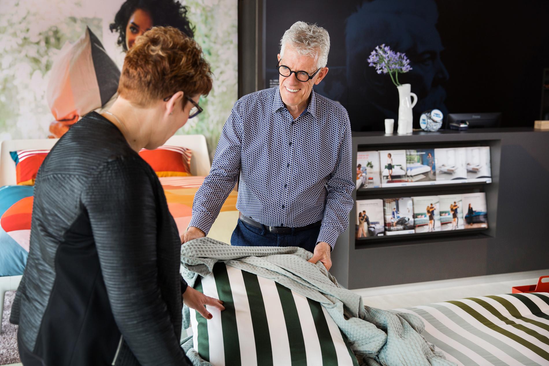 Auping Plaza Heerlen – Natural Vita Talalay Latex Mattress Store in Heerlen LI