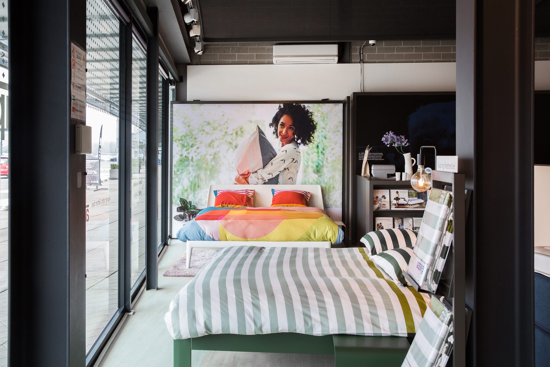 Auping Plaza Heerlen – Natural Vita Talalay Latex Mattress Store in Heerlen Limburg
