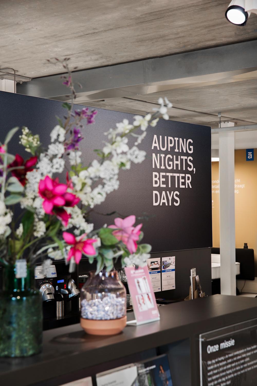 Auping Plaza Leeuwarden – Vita Talalay natuurlatex matrassentopperwinkel in Leeuwarden Friesland