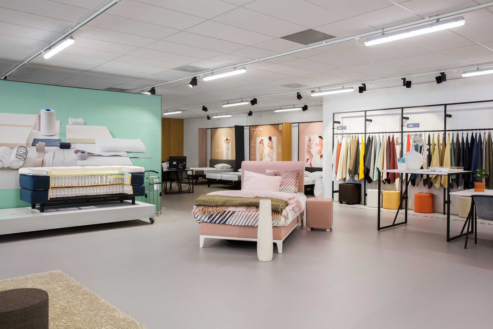 Auping Plaza Maastricht – Natural Talalay Latex Mattress and Latex Pillow Store in Maastricht LI