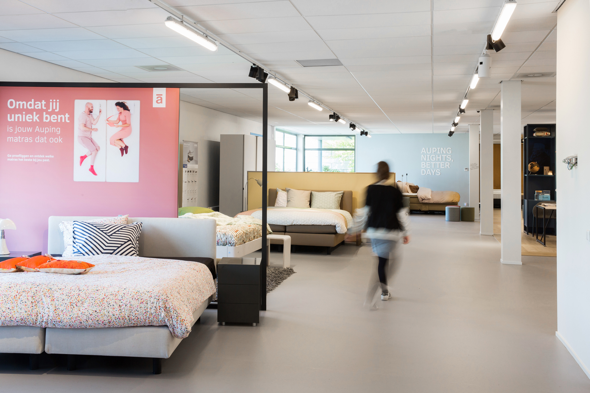 Auping Plaza Maastricht – Natural Vita Talalay Latex Mattress Store in Maastricht Limburg