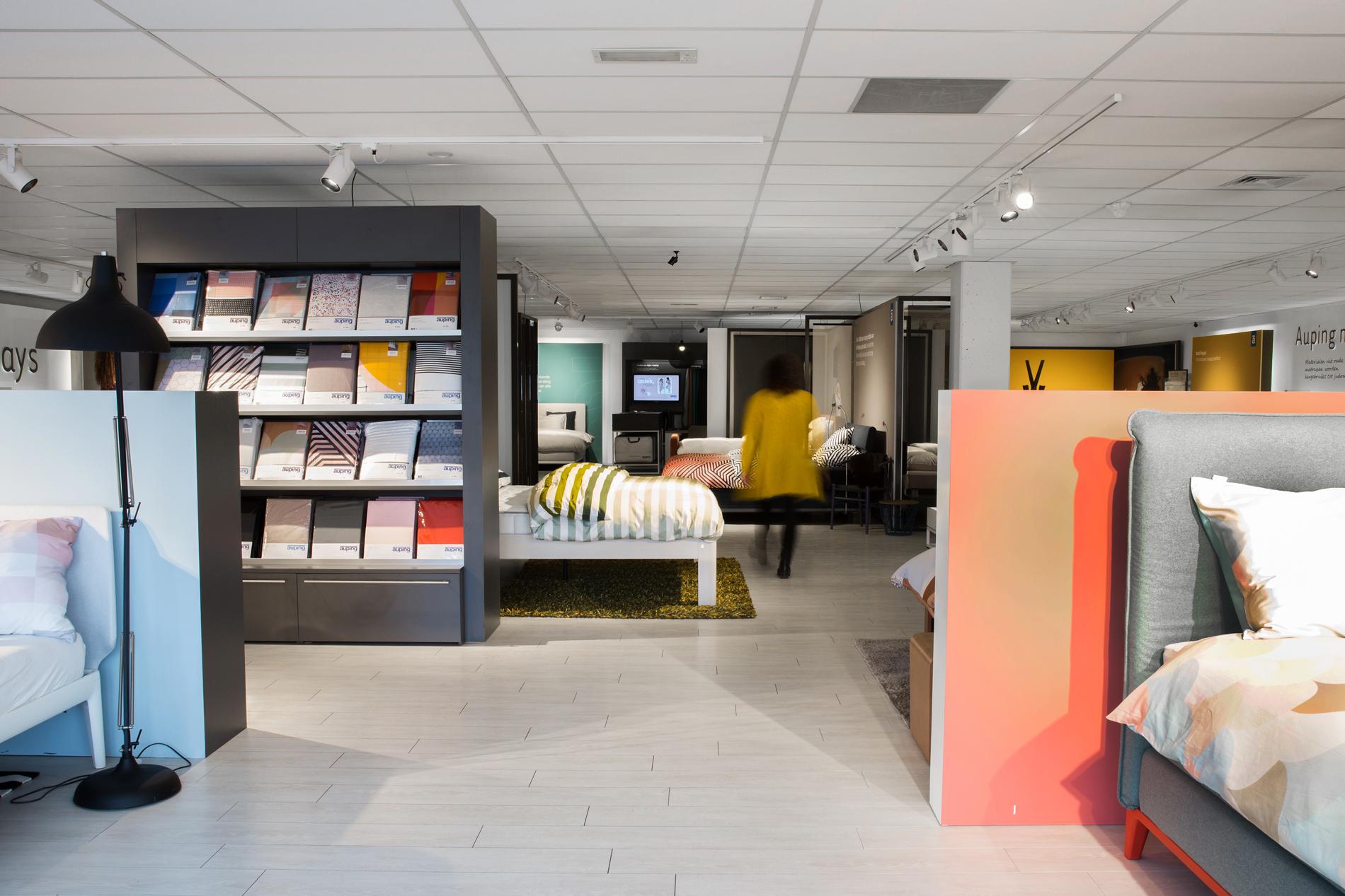 Auping Plaza Naaldwijk – Natural Vita Talalay Latex Mattress Store in Naaldwijk ZH