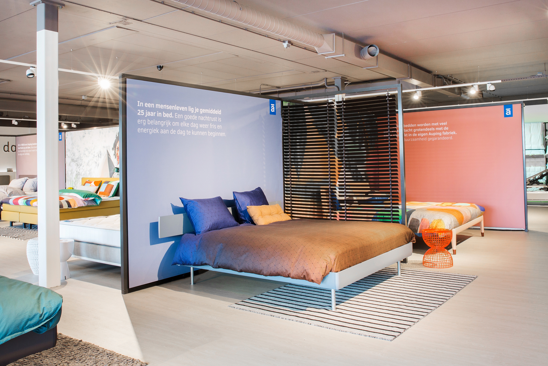 Auping Plaza Nijmegen – Natural Talalay Latex Mattress and Latex Pillow Store in Nijmegen GE