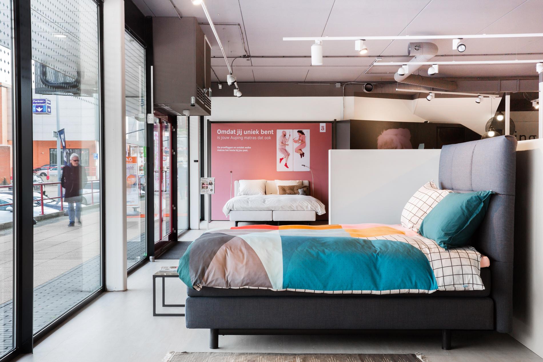 Auping Plaza Nijmegen – Natural Vita Talalay Latex Mattress Store in Nijmegen Gelderland