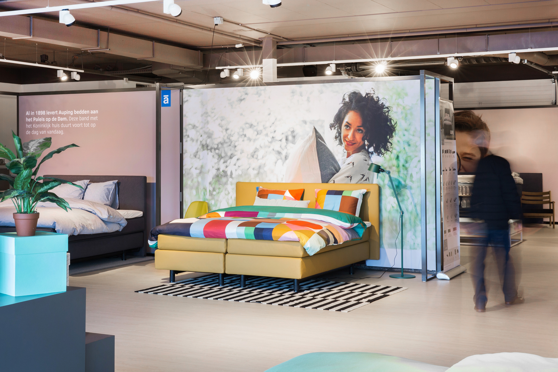 Auping Plaza Nijmegen – Natural Talalay Latex Mattress Store in Nijmegen GE