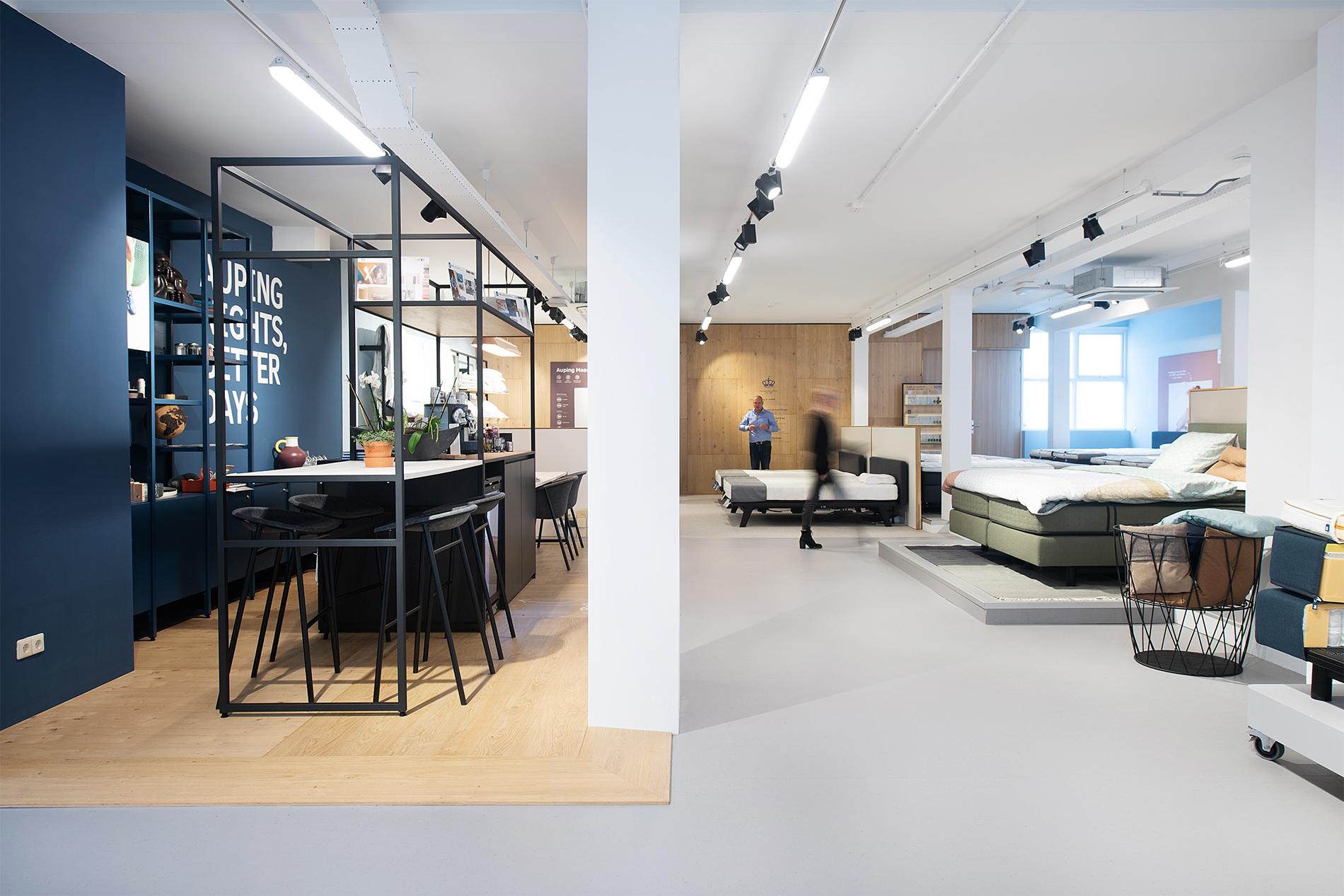 Auping Plaza Rotterdam Centrum – Natural Talalay Latex Mattress Store in Rotterdam Centrum ZH