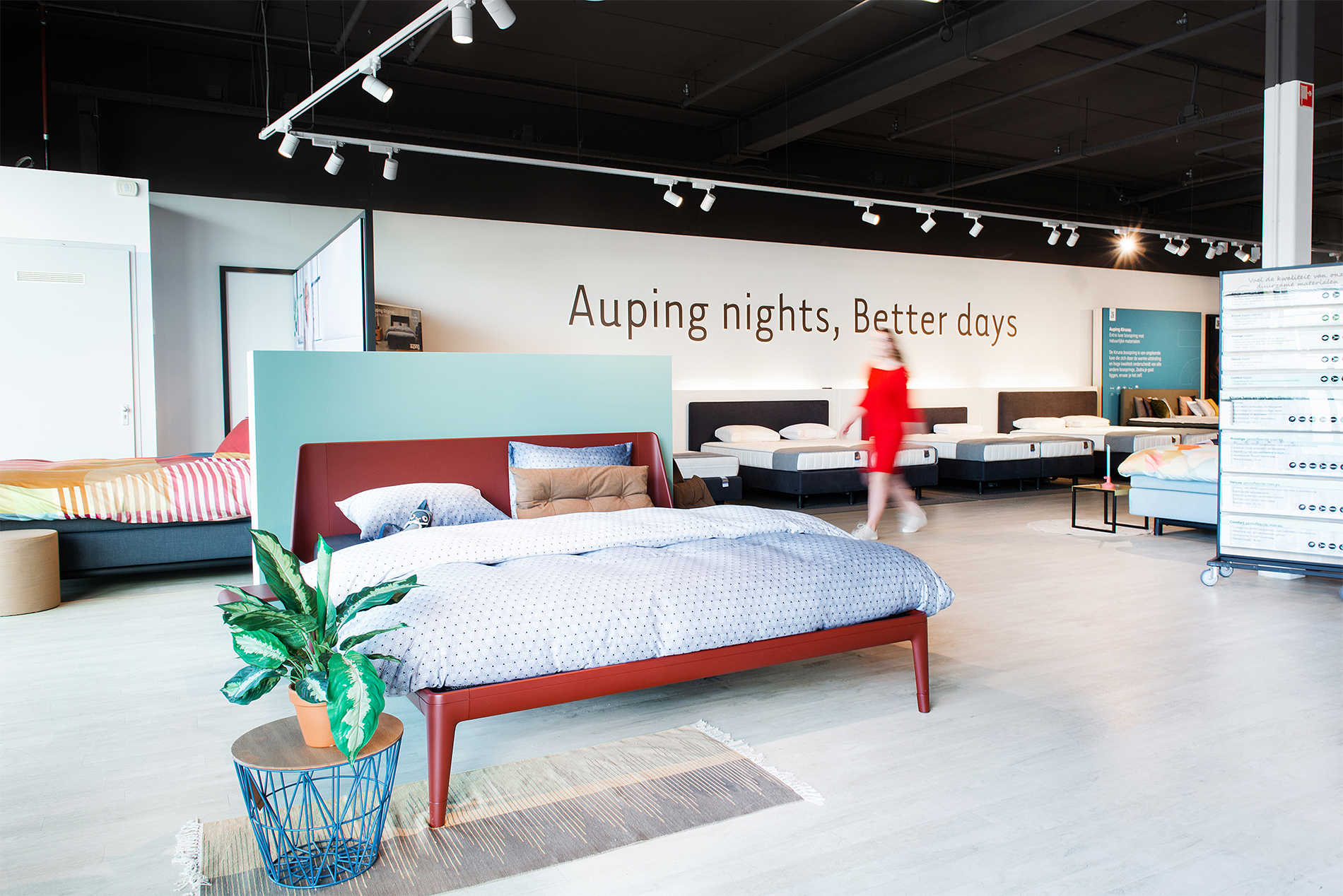 Auping Plaza Spijkenisse – Natural Talalay Latex Mattress Topper Store in Spijkenisse ZH