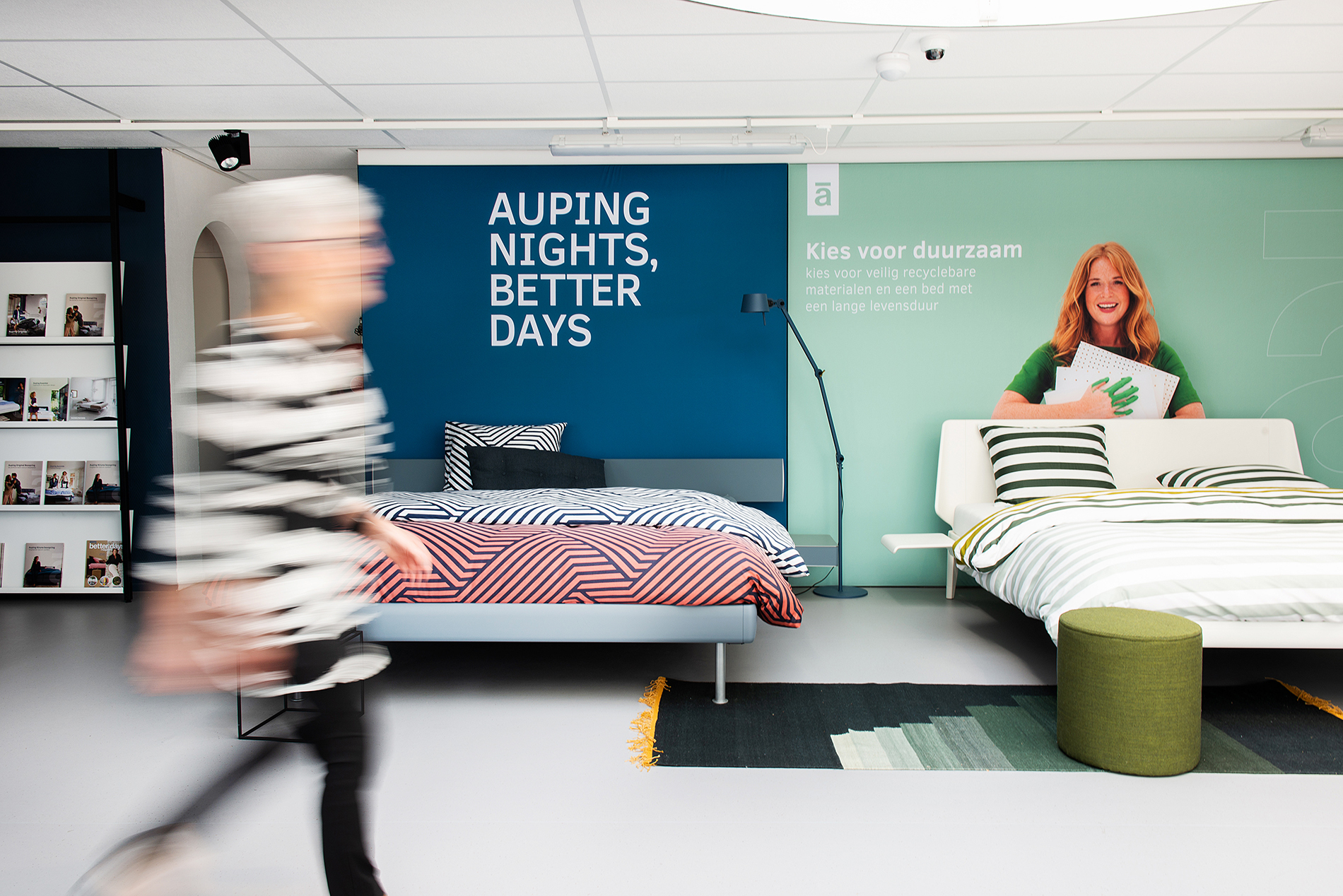Auping Plaza Uden – Natural Talalay Latex Pillow Store in Uden NB
