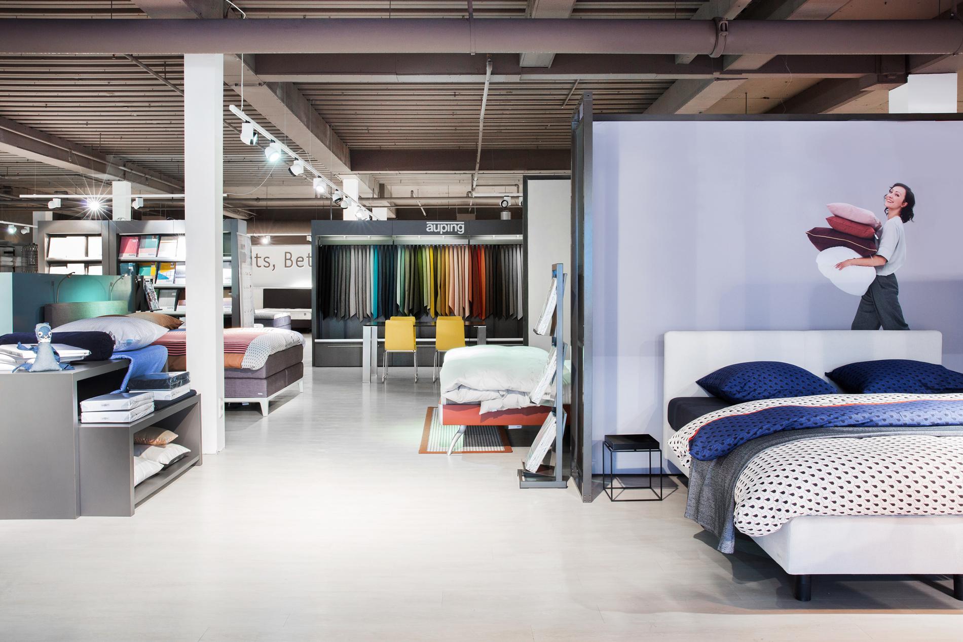 Auping Plaza Utrecht – Natural Talalay Latex Mattress Topper Store in Utrecht