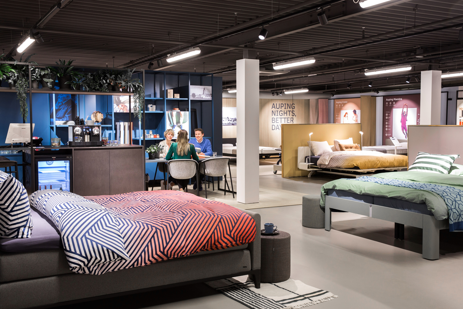 Auping Plaza Zutphen – Natural Talalay Latex Pillow Store in Zutphen Gelderland