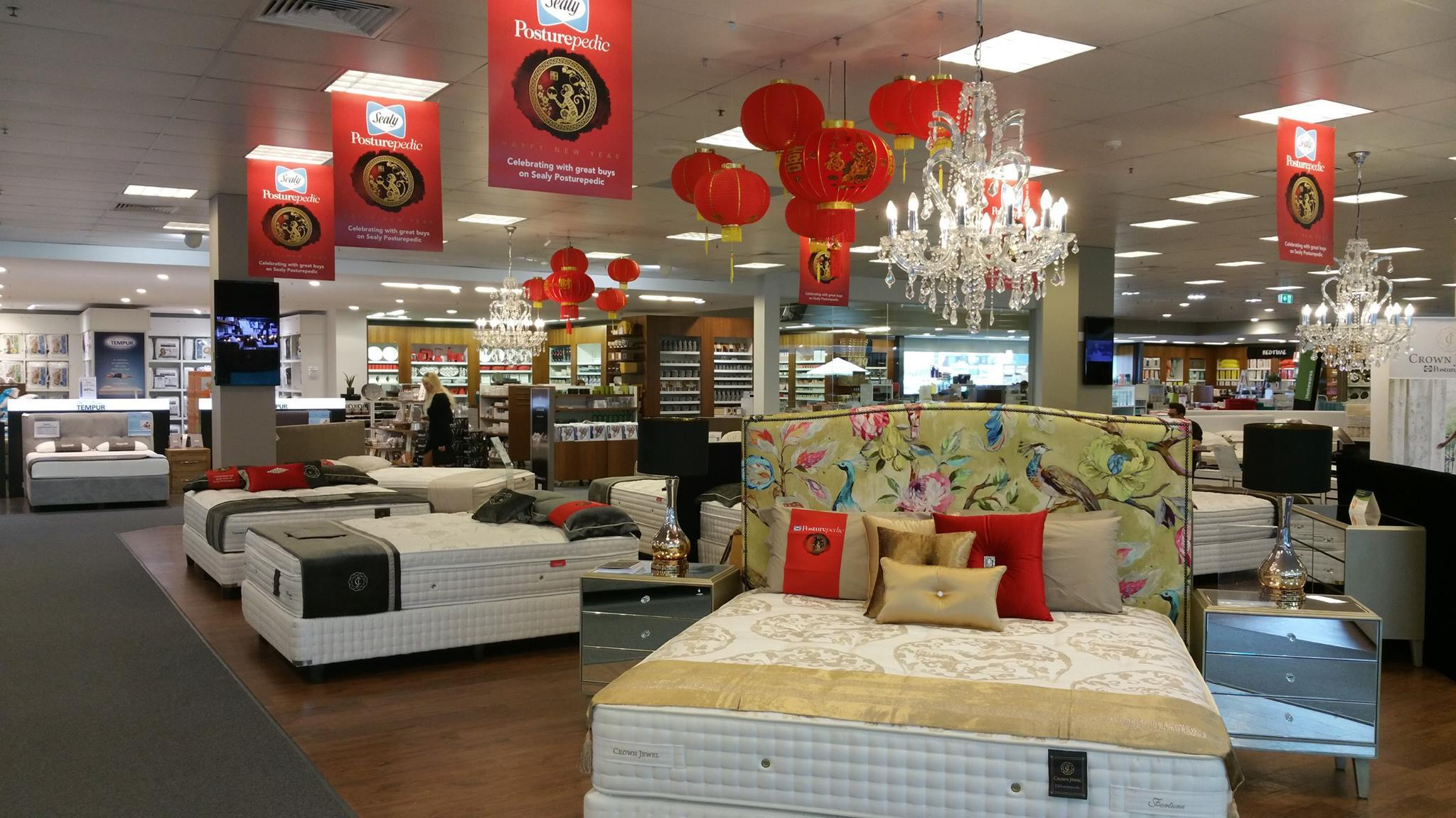 Domayne – Natural Talalay Latex Mattress Topper Store In Belrose New South Wales