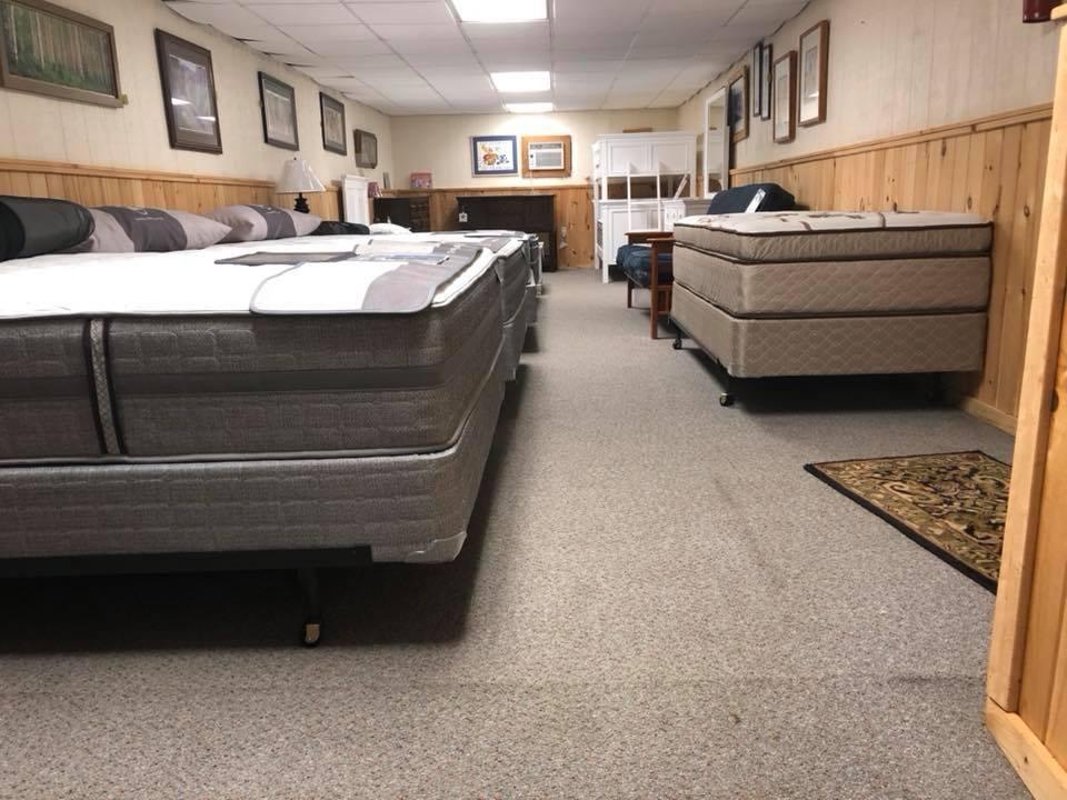 Hl Stephens Furniture Natural Talalay Latex Mattress And Pillow In Montour Falls Ny