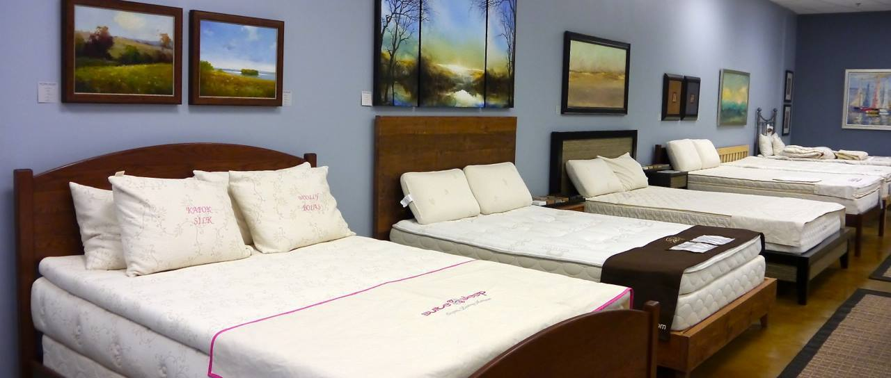 North Shore Bedding – Natural Vita Talalay Latex Mattress Store In Northbrook Il