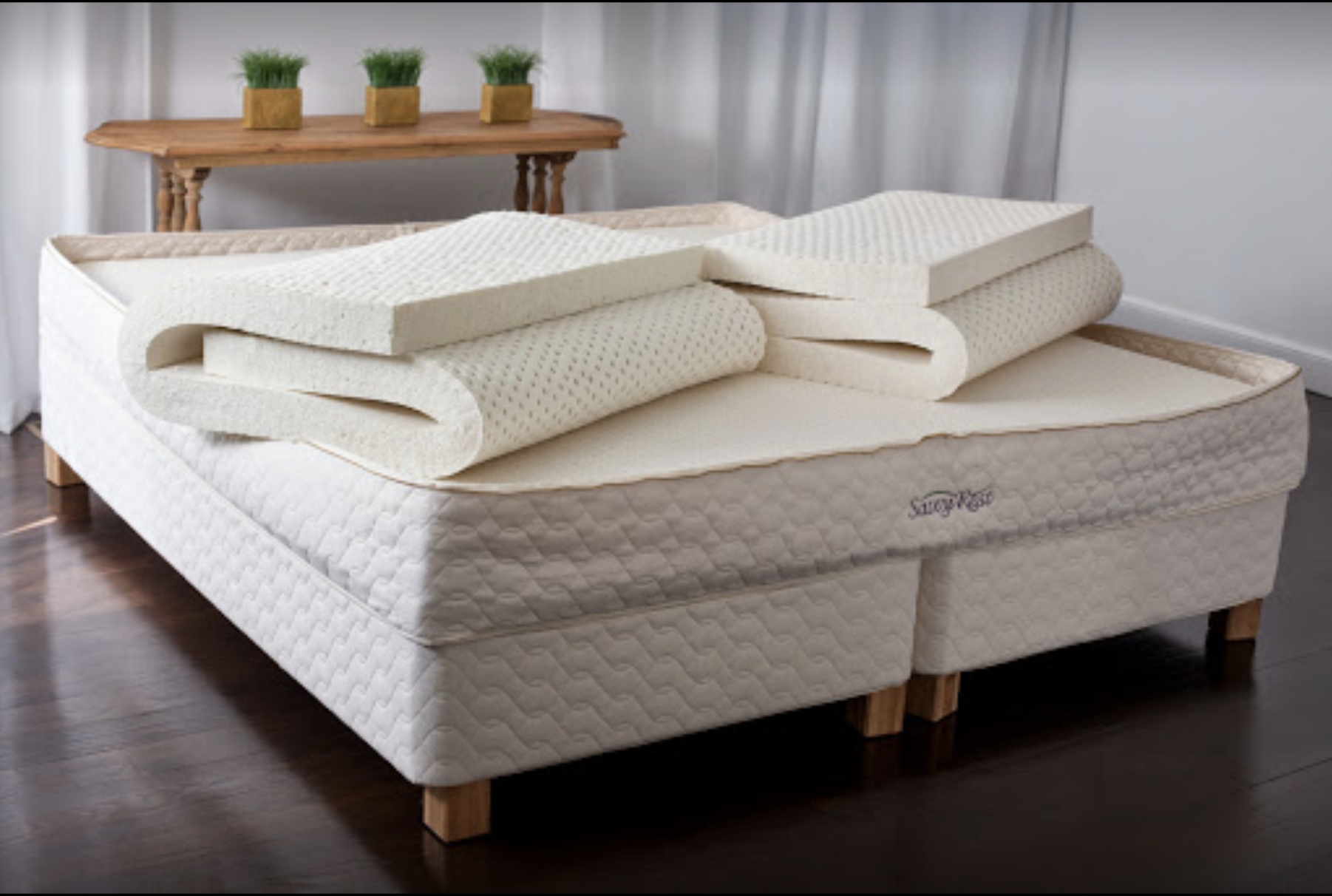 Savvy Rest Natural Bedroom – Natural Vita Talalay Latex Mattress Store In Berkeley California