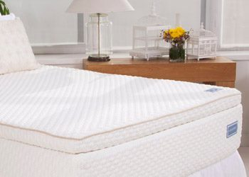New Oxford Pa Sleighters Furniture And Sleep Natural Talalay Latex Mattress Topper In