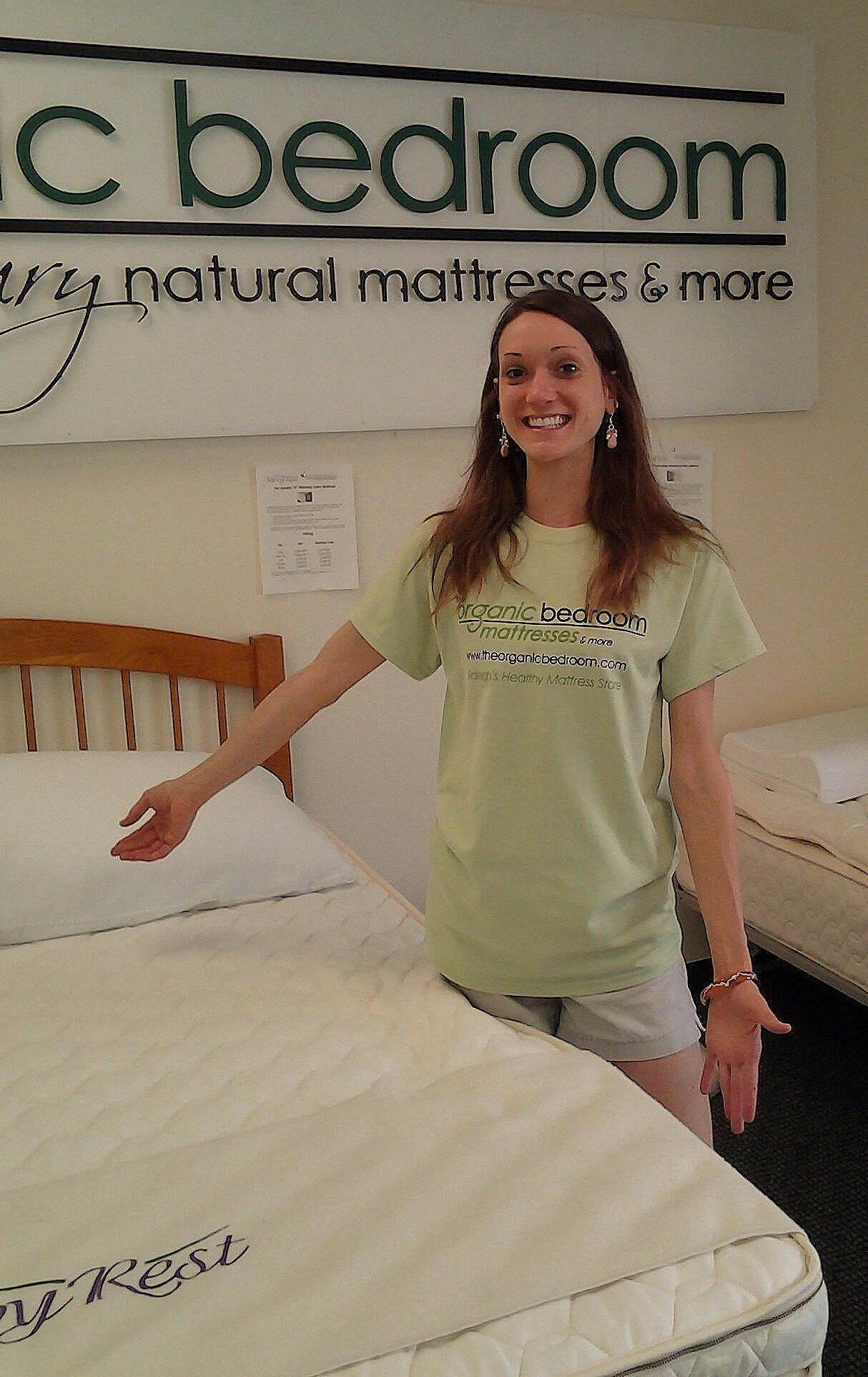 The Organic Bedroom – Natural Vita Talalay Latex Mattress Store In Raleigh Nc