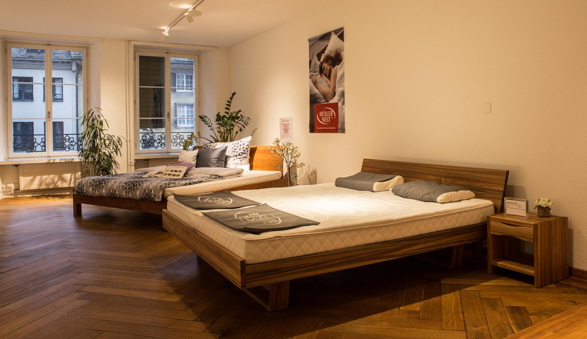 Hüsler Nest - Natürlicher Talalay-Latex-Kissengeschäft in Solothurn Solothurn