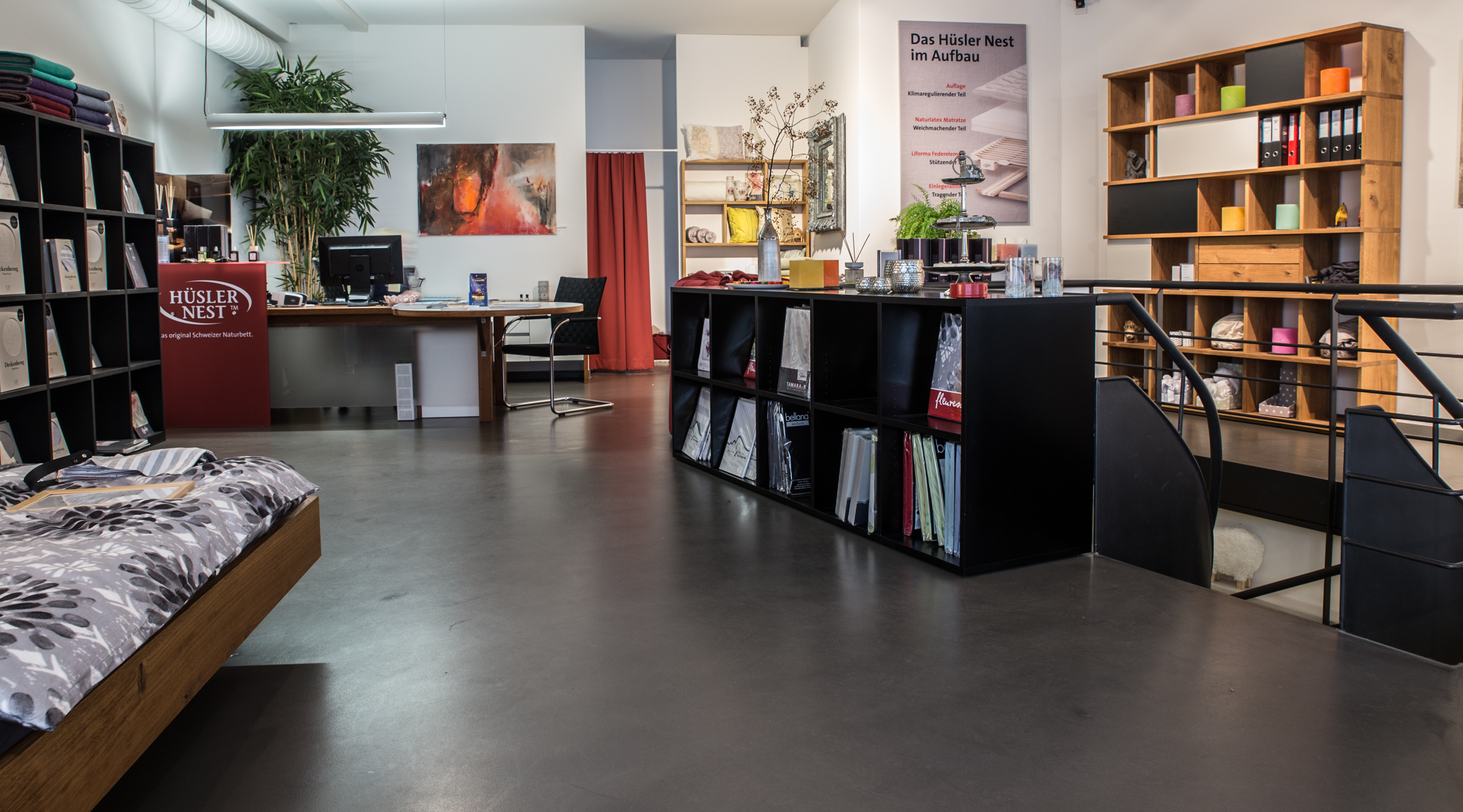 Hüsler Nest - Natürlicher Talalay-Latex-Kissengeschäft in Zürich Zürich
