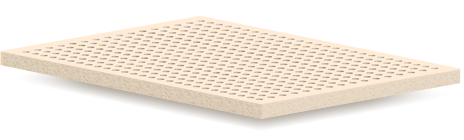 Top Layer Natural Talalay Latex